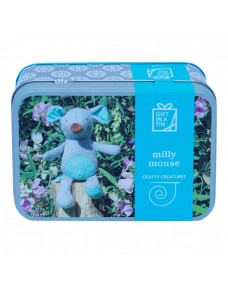 Crafty Creatures Milly Mouse - Gift in a Tin