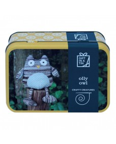 Crafty Creatures Olly Owl - Gift in a Tin