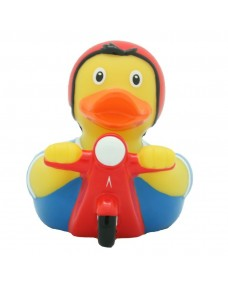 Rubber Duck Bath Toy - Motorcycle Duck