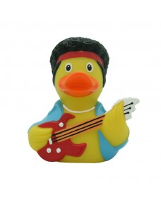 Rubber Duck Bath Toy - Rockstar Duck