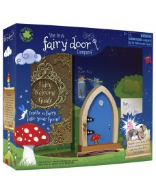 Blue Arched Fairy Door