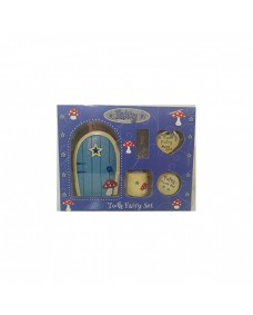 Fairy Friendship Door and Tooth Boxed Gift Set - Blue