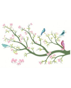 3D Wall Stickers Cherry Tree in Bloom