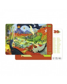 Dinosaurs 2 Sided Placemat