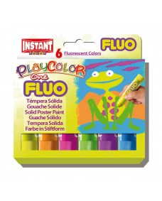 Fluo One Playcolour 6 Pack