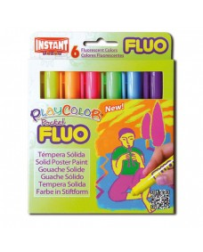Fluo Pocket Playcolour 6 Pack
