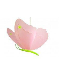 Butterfly Ceiling Light - Pink