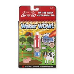 Water Wow! - Farm Water Reveal Pad - ON the GO Travel Activity