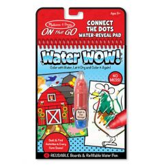 Water Wow! - Connect the Dots Water Reveal Pad - ON the GO Travel Activity