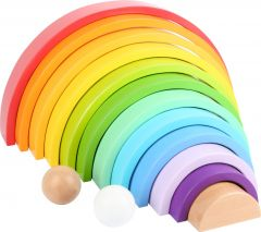 Wooden Rainbow with 2 Balls