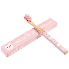 Bamboo Toothbrush - Cookie the Cat