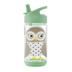 3 Sprouts Owl Water Bottle