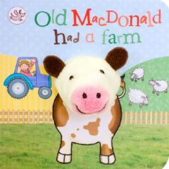 Old McDonald Chunky Finger Puppet Book