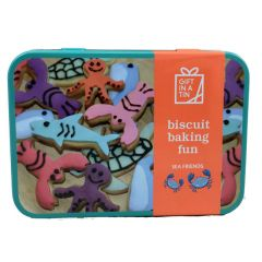 Biscuit Baking Gift in a Tin