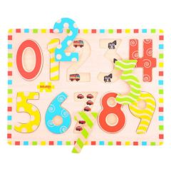 Inset Numbers Puzzle