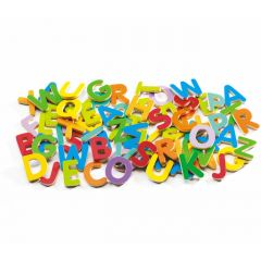 Wooden Magnetics - Letters