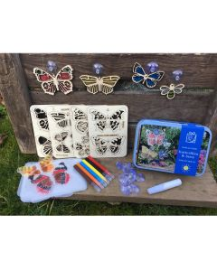 Gift in a Tin - Butterflies and Bees Suncatcher Kit