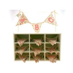 ABC Floral Bunting - Single Piece
