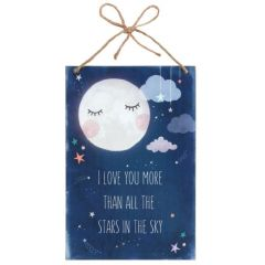 I Love You More - Wall Plaque