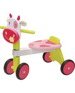 I'm Toy Paddling Ride On Pink Cow