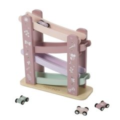 Pink Wooden Car Slider