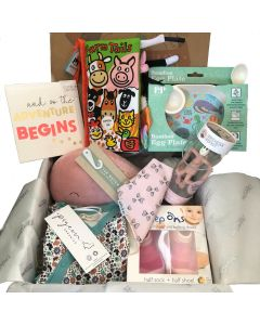 The Ultimate Baby Box - Blush Pink