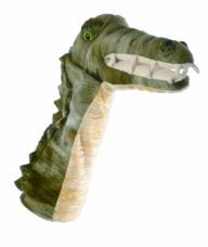 Glove Puppet, Long Sleeved - Crocodile