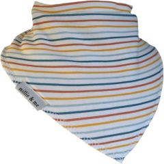 Bright Stripe Bandana Bib
