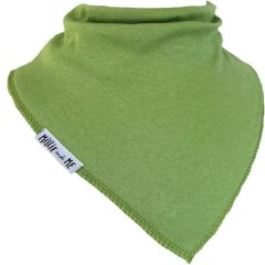 Plain Green Bandana Bib