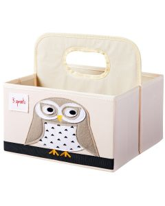 Owl Nappy Caddy