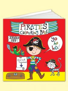Colouring Book Pirate