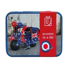 Scooter Gift in a Tin