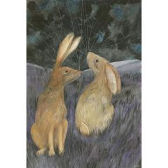A3 Print - Spirit Hares Illustrated Print