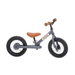 Steel Balance Bike - Grey