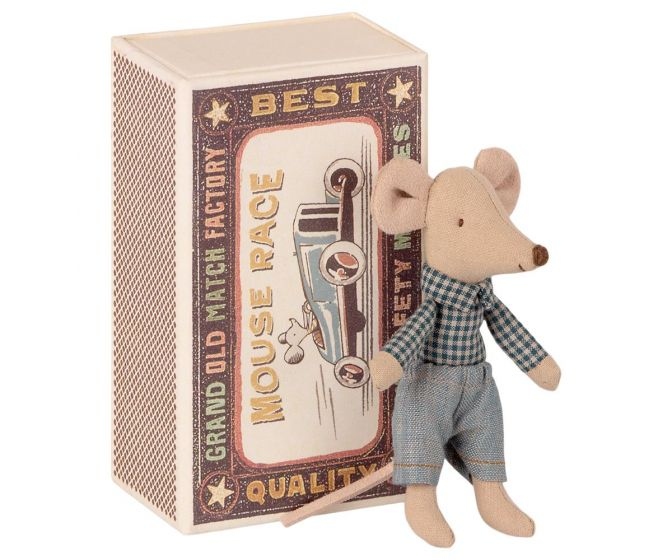 Maileg Little Brother Mouse in Matchbox - 1725