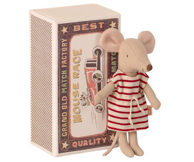 Maileg Big Sister Mouse in Matchbox - 1734
