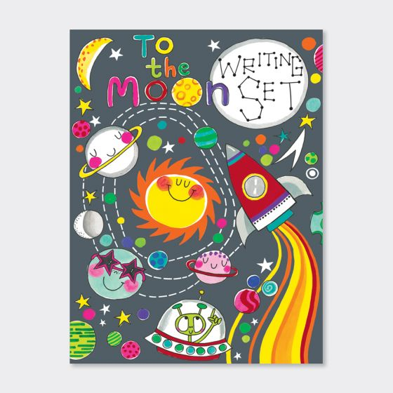 Writing Set Wallet - To the Moon