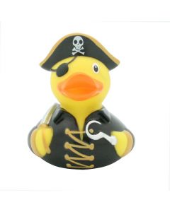 Rubber Duck Bath Toy - Pirate with Hook