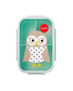 3 Sprouts Owl Bento Box