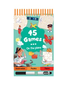 45 Games Book - On the Plane
