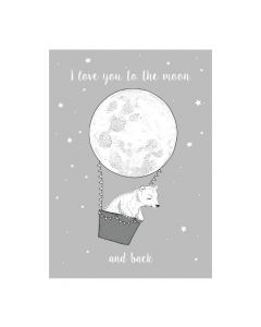 Poster - I Love you to the Moon