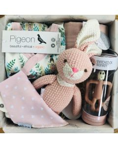 The Deluxe Baby Box - Blush Pink