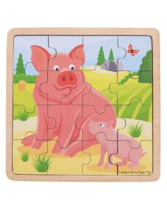Pig and Piglet Puzzle
