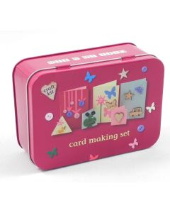 Card Making Set in a Tin