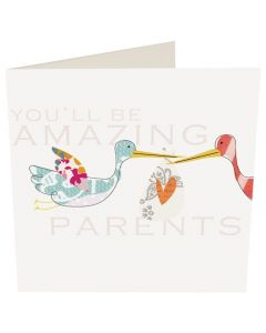 You'll be Amazing Parents Card