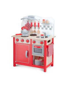 Deluxe RED Kitchenette