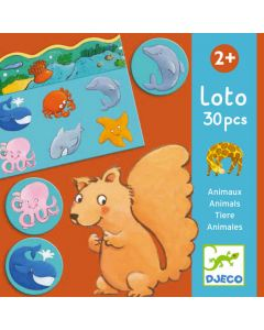 Animals Lotto by Djeco