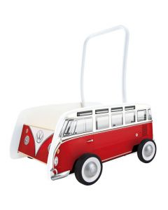 Red Camper Van Walker