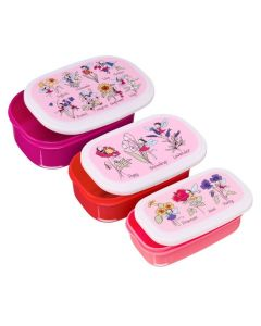 Flower Fairy Snack Boxes 3pce Set