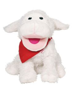 Sheep Hand Puppet Suse